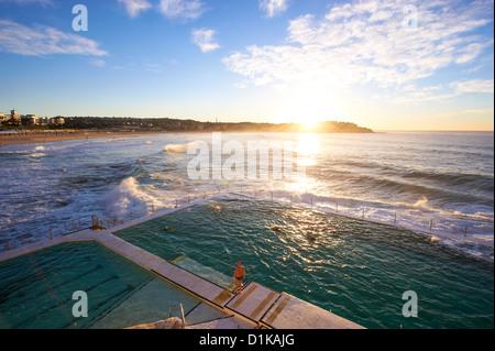 Bondi Icebergs, Sydney New South Wales Australia - Stock Image