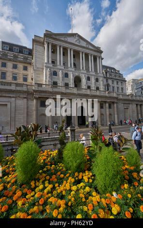 the bank of England - Stock Image