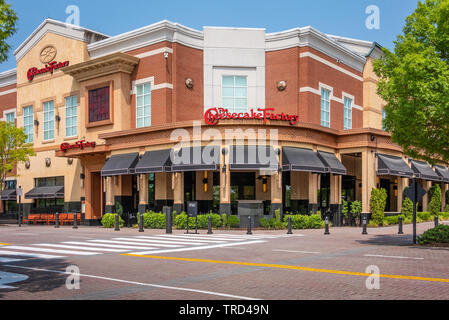 Cheesecake Factory restaurant at the Mall of Georgia in Buford, Georgia near Atlanta. - Stock Image
