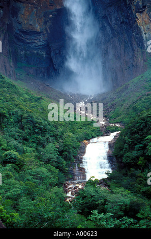 Angel Falls Venezuela - Stock Image