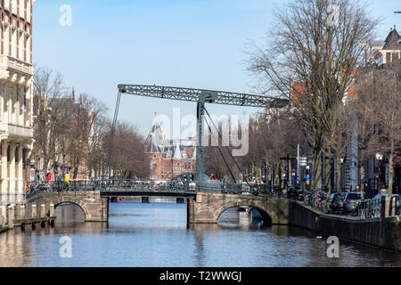 Canals of Amsterdam - Stock Image