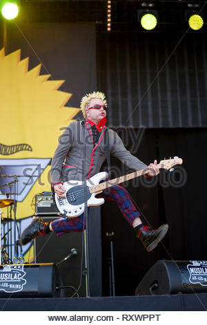 THE TOY DOLLS performing live, 11 july 2015 - Stock Image