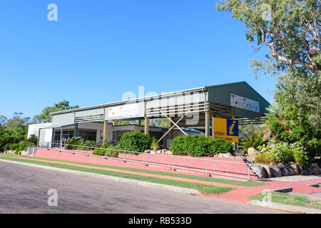 'TerrEstrial' Visitor Information Centre in Georgetown, a small rural town along the Savannah Way, Queensland, QLD, Australia - Stock Image