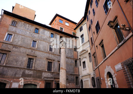 italy, rome, palazzo massimo alle colonne, renaissance palace built on the site of the Odeon of Domitian - Stock Image