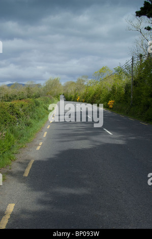 Lonesome Road #51. Irish country road - Stock Image