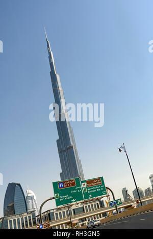 Burj Khalifa - Stock Image