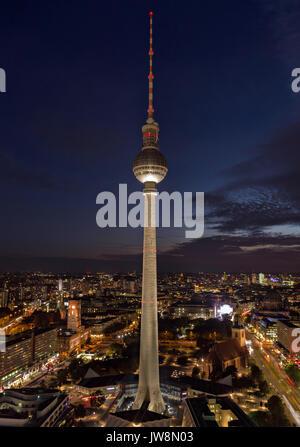 Fernsehturm Berlin - Stock Image