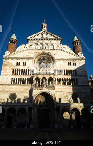 Italy, Lombardy, Cremona, The Cathedral - Stock Image