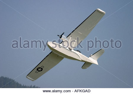 Zeltweg 2005 AirPower 05 airshow Austria, Canadian Vickers Canso PBY 5A - Stock Image