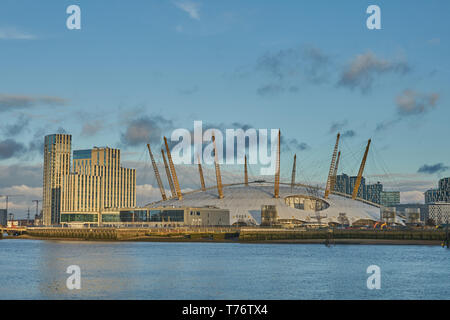 The 02  Docklands - Stock Image