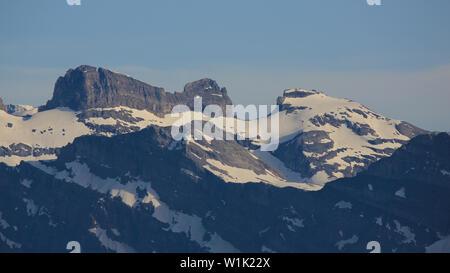 Reissend Nollen, mountain near Mount Titlis, Switzerland. - Stock Image