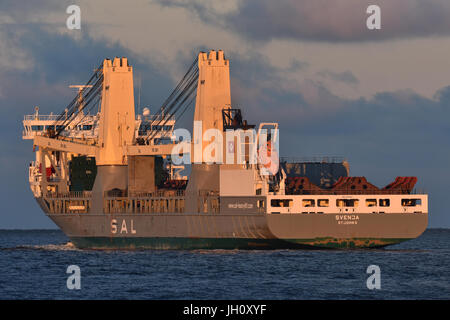 Heavy-Lift-Vessel Svenja - Stock Image