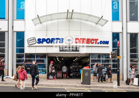 Sports Direct store, Brighton, Sussex, England, GB, UK - Stock Image