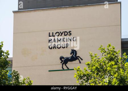 Lloyds Banking Group in Bristol, UK - Stock Image