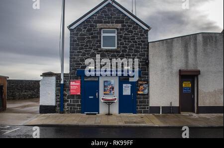 Donaghadee Lifeboat Station, Donaghadee in Northern Ireland - Stock Image