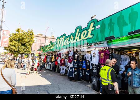 Camden market, Camden Market Camden Town London UK England, Camden Market, Camden Town, North London, England, UK, - Stock Image