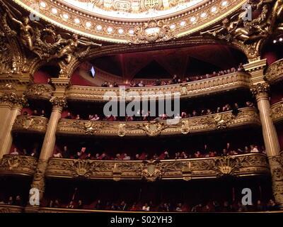 Opéra Garnier -Paris- France - Stock Image