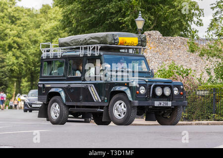 Land Rover 110 Defender County SW TDi from 1987. - Stock Image