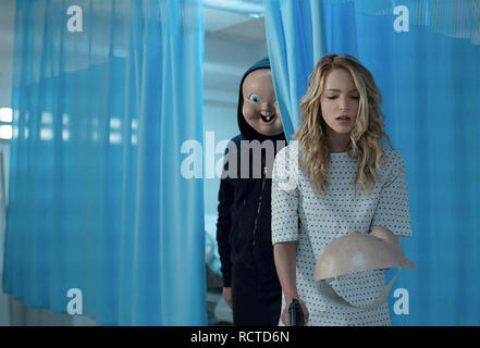 HAPPY DEATH DAY 2U- 2019 Blumhouse Productions film with Jessica Rothe - Stock Image