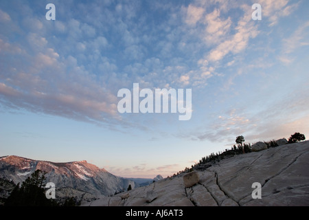 Olmsted Point, Yosemite National Park, California, USA - Stock Image
