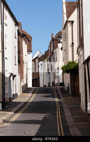 Street Scene  near Middle Street, Deal, Kent - Stock Image