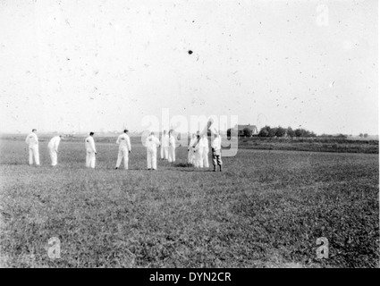 AL009B 296 Goodyear Blimp NC10-A Mayflower Hicksville Aviation Country Club, Hicksville, NY - Stock Image