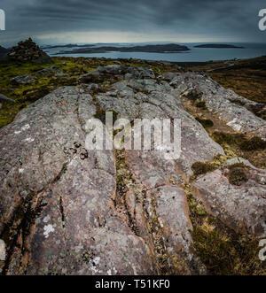 Brae of Achnahaird, west coast of Scotland. - Stock Image