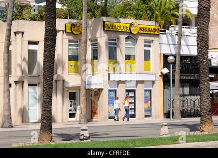 Gebäude Mallorca Inselradio, Palma, Mallorca, Spanien, Europa.   Building Mallorca Inselradio, Palma, Majorca, - Stock Image