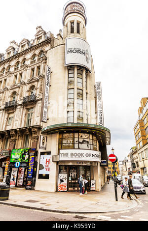 The Book Of Mormon Prince of Wales Theatre, The Book of Mormon Musical, Prince of Wales Theatre; West End, The City - Stock Image