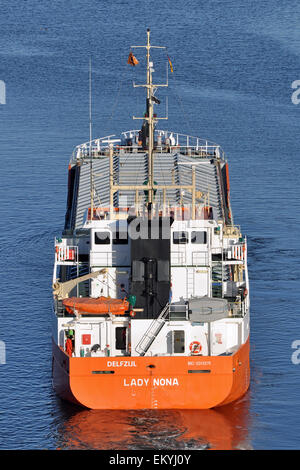 General cargo vessel Lady Nona - Stock Image