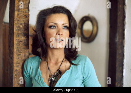 Kate O'Mara (1939-2014) - English film, stage and television actress, and writer. - Stock Image