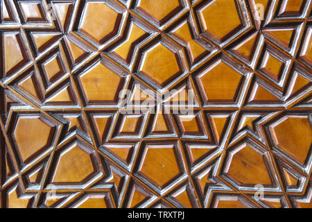 Door detail of The Blue Mosque, (Sultanahmet Camii), Istanbul, Turkey. - Stock Image