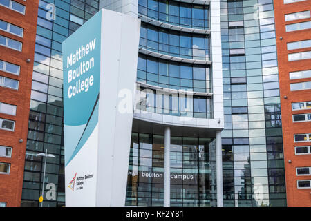 Matthew Boulton College part of BMC (Birmingham Metropolitan College), Birmingham, England, UK - Stock Image