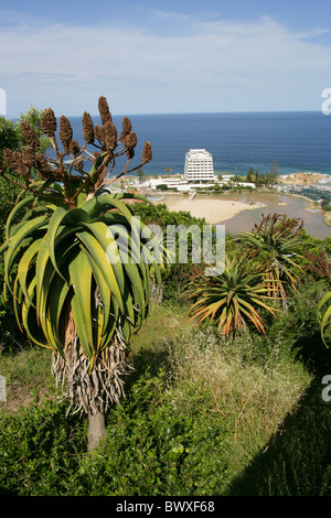 Beacon Island Hotel, Plettenburg Bay, Western Cape Province, South Africa. - Stock Image