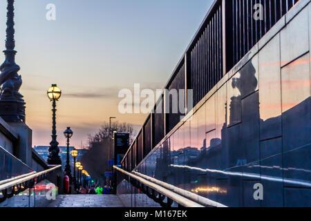 Embankment - Stock Image