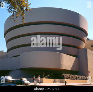 Guggenheim Museum New York - Stock Image