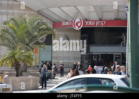 shopping mall in israel - Stock Image