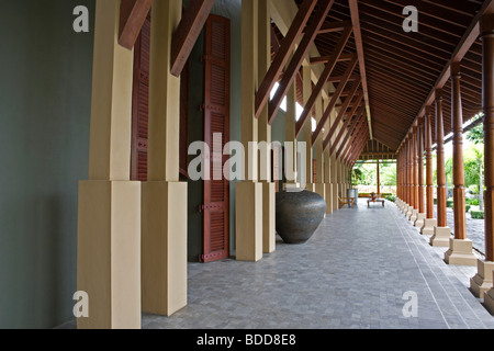 Modern asian interior design - Stock Image