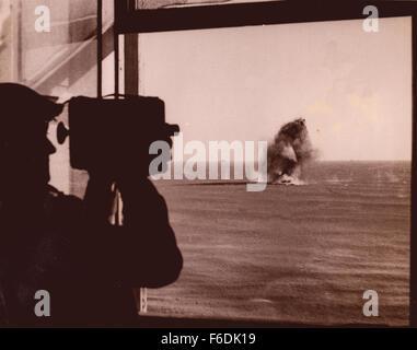708.Anzio landings Italy. Picture of beach head at Nettuno.1944. - Stock Image