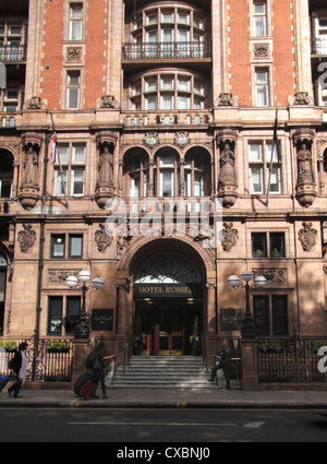Hotel Russell in Russell Square London - Stock Image