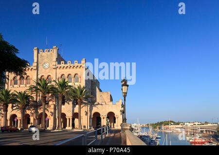 Spain, Balearic Islands, Menorca, Ciutadella, Old Town - Stock Image