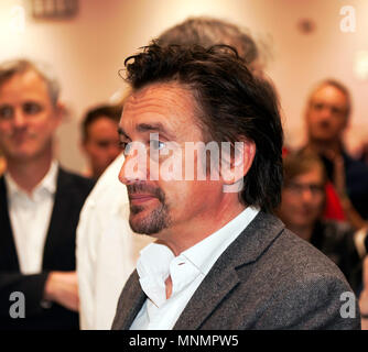 Richard Hammond greeting fans on the Drivetribe Stand, at the  London Motor Show 2018. - Stock Image