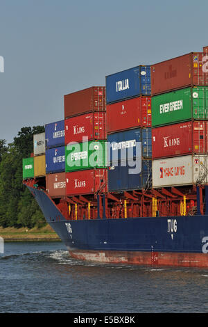Colorful Cargo - Stock Image