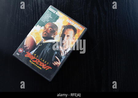DVD of thriller The Last Boy Scout - Stock Image
