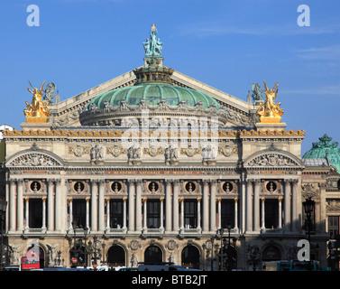 France, Paris, Opera Garnier, - Stock Image