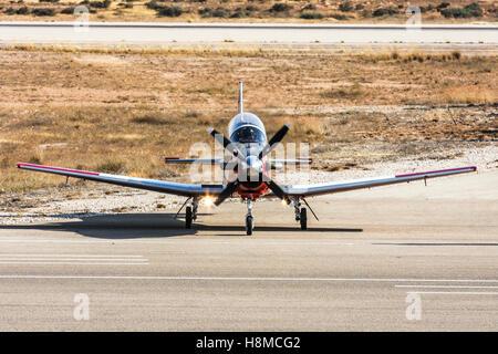Israeli Air force Flight Academy Beechcraft T-6A Texan II - Stock Image