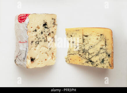 Roquefort Cheese - Stock Image