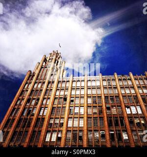 Manchester Unity Art Deco building in Melbourne Australia - Stock Image