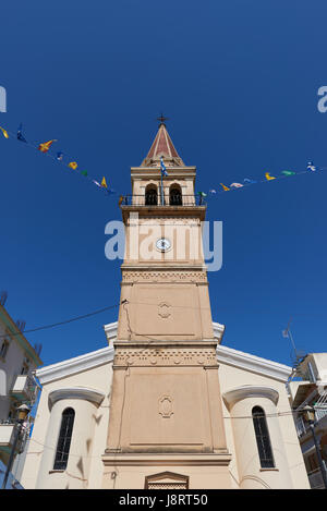 Analipsi church at Zakynthos - Stock Image
