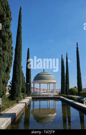 La Concepción botanical garden. Málaga, Andalusia, Spain. - Stock Image